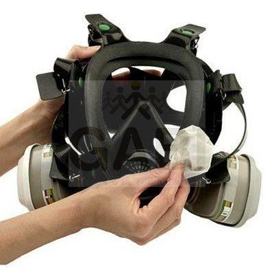 Maska gazowa chroniąca drogi oddechowe, jak działa?